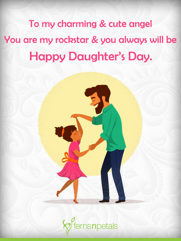 30+ Unique Quotes and Messages to wish Happy Daughters Day - Ferns N