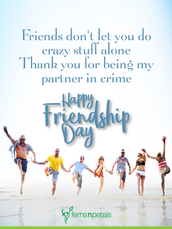 Friendship Day Quotes, Friendship Day Messages 2019 - Ferns