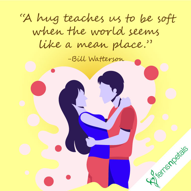best quotes for hug day