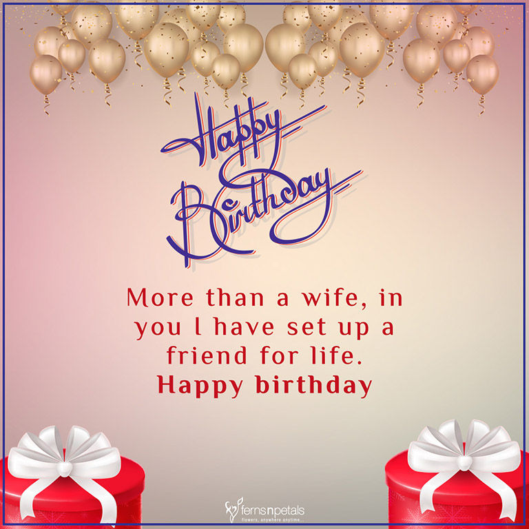 30 Best Happy Birthday Wishes Quotes Messages Ferns N Petals