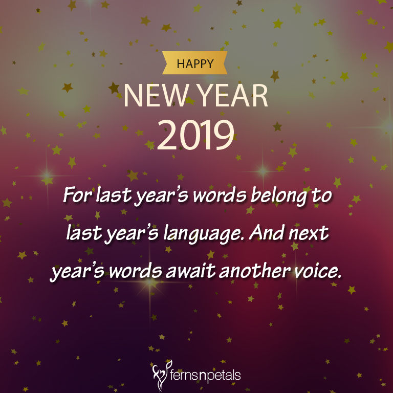 20+ Unique Happy New Year Quotes - 2019, Wishes, Messages