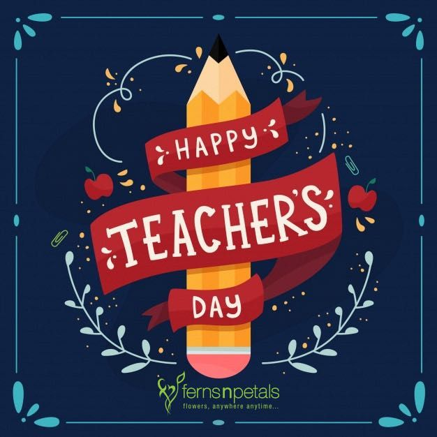 Inspirational Quotations For Teachers Day Ferns N Petals