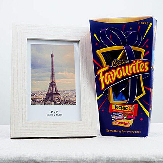 Favorite Chocolates N Photo Frame
