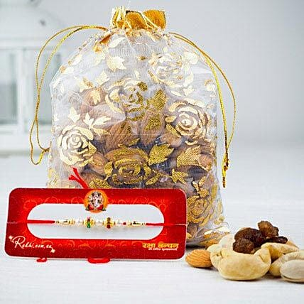Prince Rakhi with Mix Dry Fruits