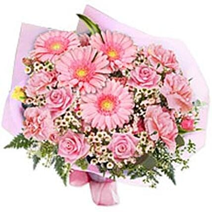 In the pink bouquet bulg