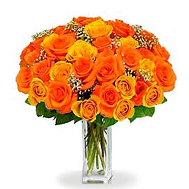 36 Orange roses Bouquet