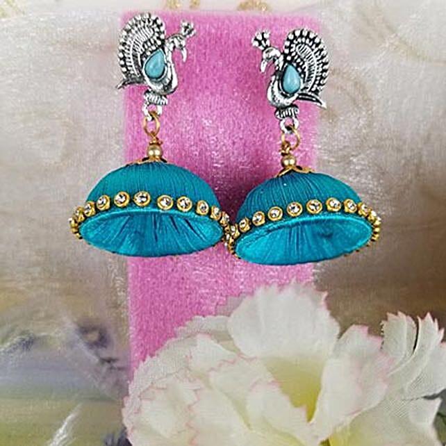 Adorned Thread Earrings