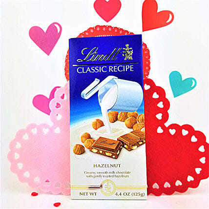 Classic Lindt Hazelnut Chocolate