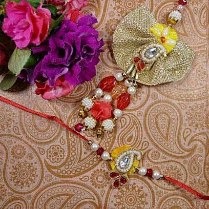 Colourful Bhaiya Bhabhi Rakhi