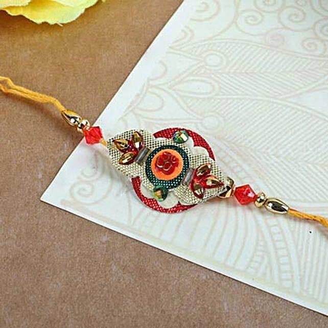 Elegant Embroidery Rakhi