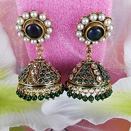 Embellished Antique Earrings