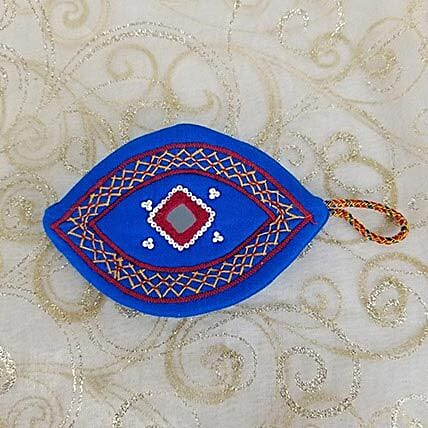 Embroidered Handy Purse