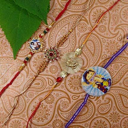 Family Rakhi Set Of Five