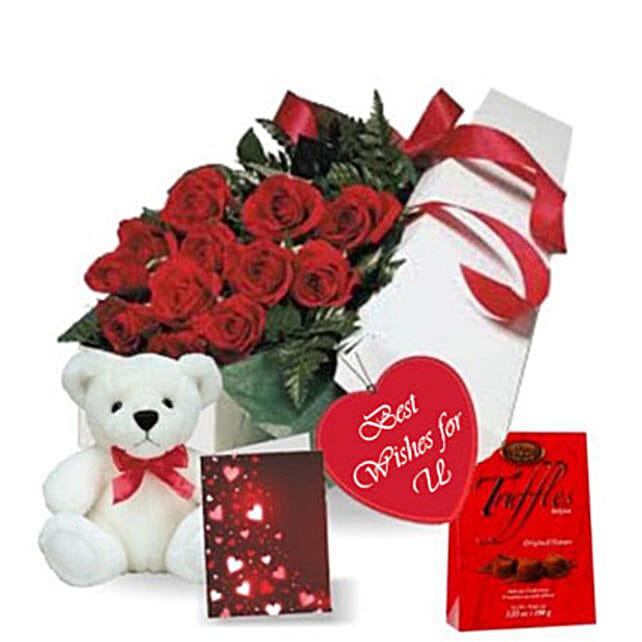 Rose Gift Box Combo
