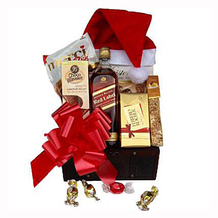 Christmas Red Johnnie Walker