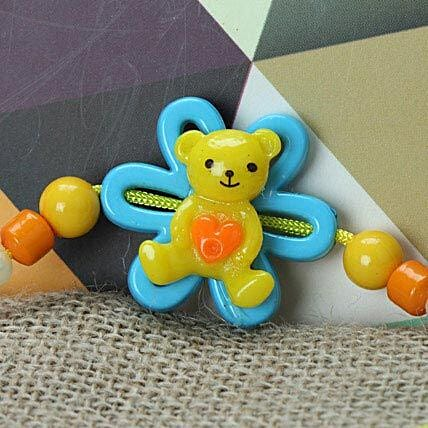Cute Little Teddy Rakhi FIN