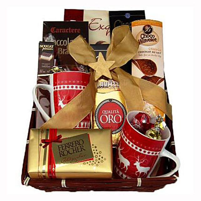 Coffee with Monika Christmas Gift Basket