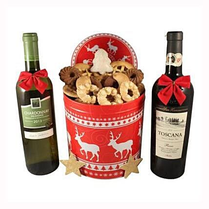 Christmas Unlimited Cookies Gift Basket