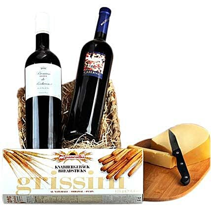 Romantic Wine Hamper