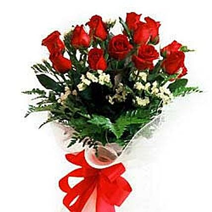 Bunch of 12 roses INDO