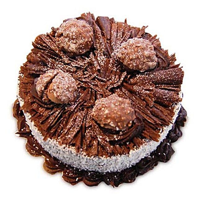 1kg Ferrero Rocher Cake Eggless by FNP