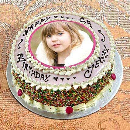 2kg Personalize Birthday Cake by FNP