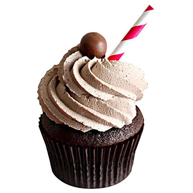 6 Chocolate Malt Cupcakes by FNP