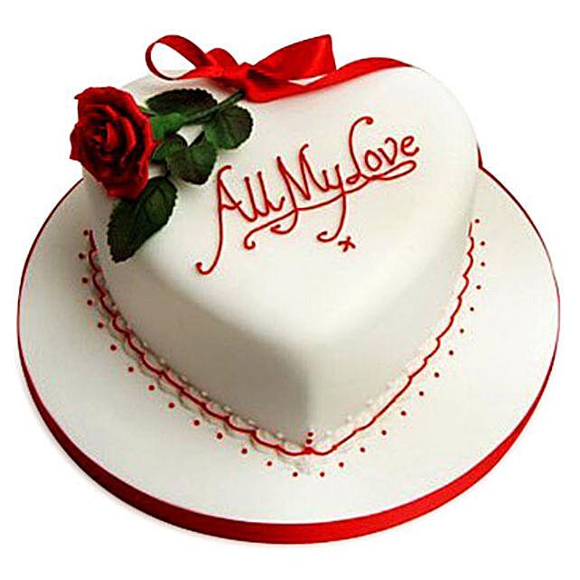 All My Love Cake 3kg Eggless Truffle