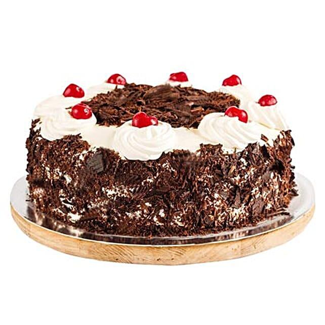 Ambrosial Black Forest Cake 2kg Eggless