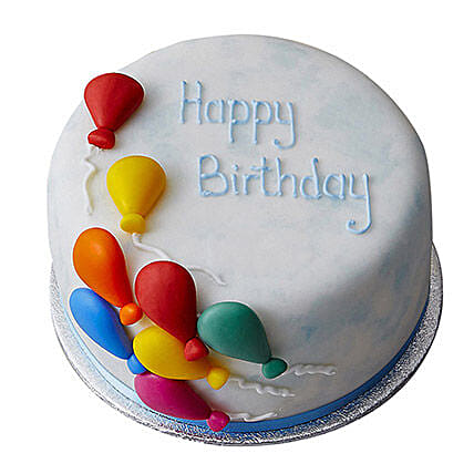 Birthday Balloon Cake 1kg