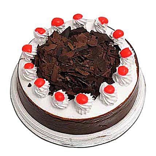 Blackforest Cake Eggless 1kg by FNP