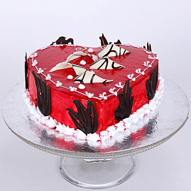 Blossoming Love Cake 1kg Vanilla Eggless