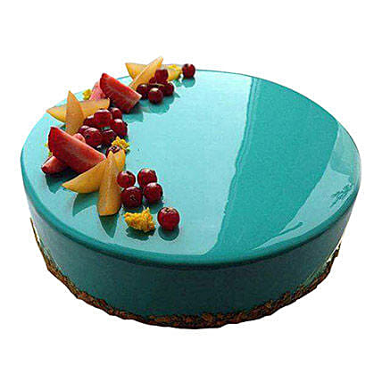 Blueridge Fondant Cake 2 Kg Eggless
