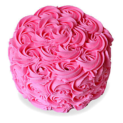 Brimming With Roses Cake 2kg Eggless Black Forest