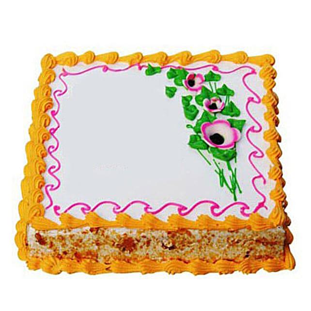 Butterscotch Bonanza Cake Half kg Eggless