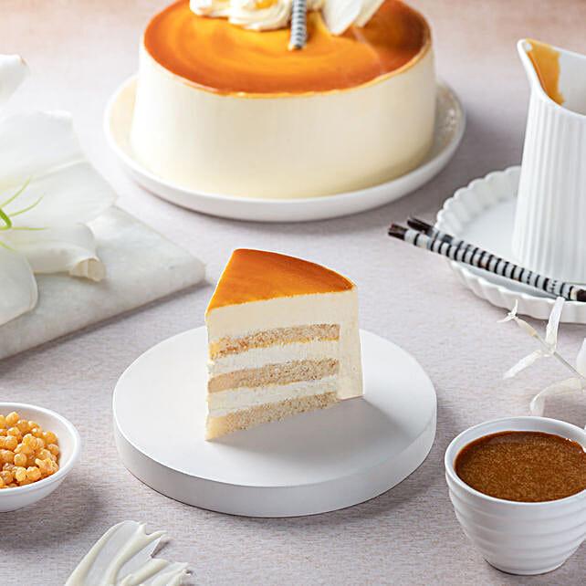 Butterscotch Cake 2Kg Eggless