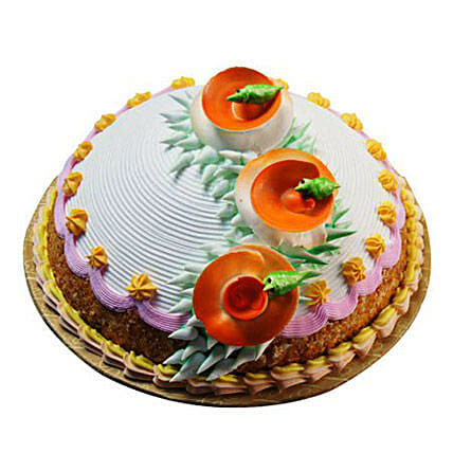 Butterscotch Mountain Cake 1kg Eggless