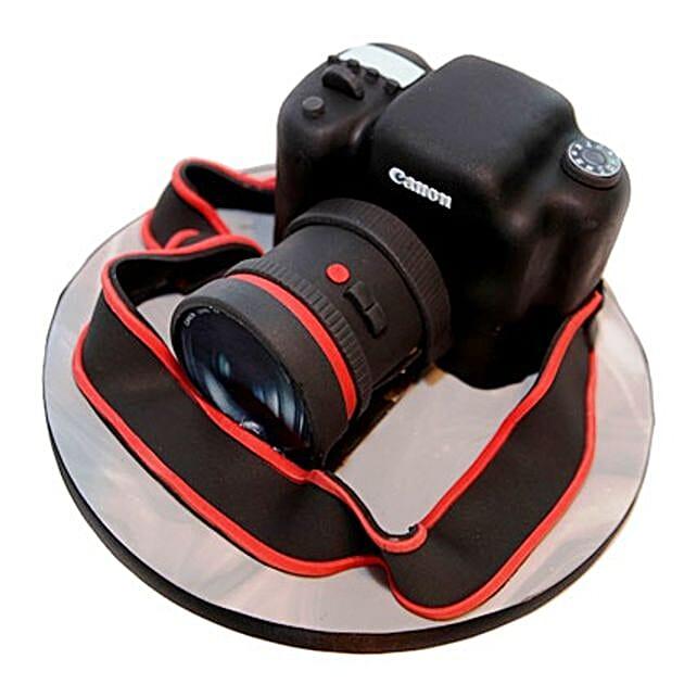 Camera Cake 4kg Eggless