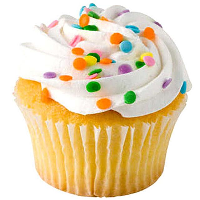 Cheerful Cupcakes 12 Eggless
