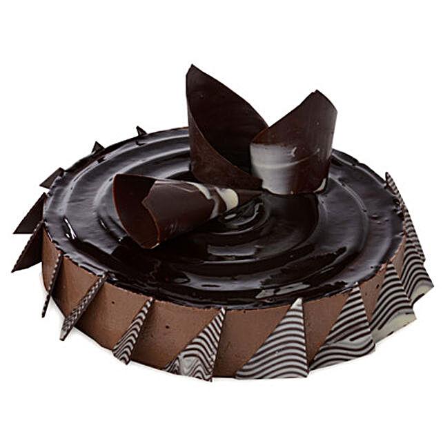 Chocolate Cheese Cake 2kg Eggless