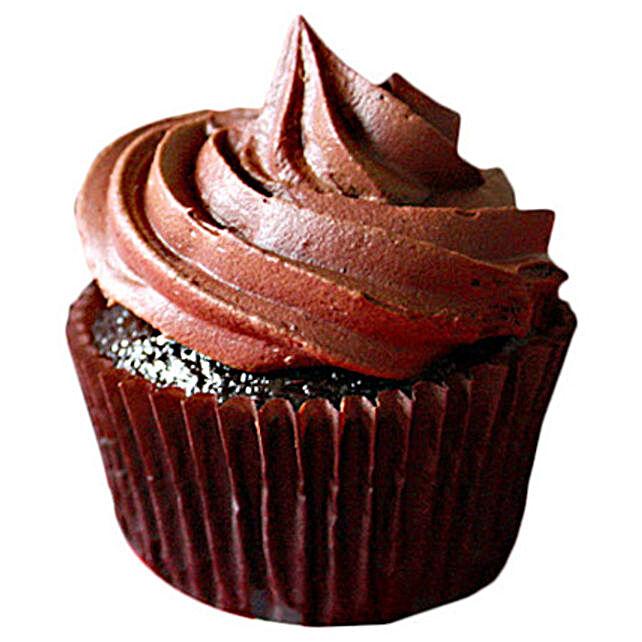 Chocolate Cupcakes 24 Eggless