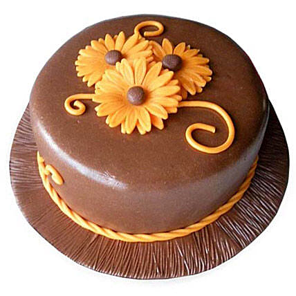Chocolate Orange Cake 2kg Eggless