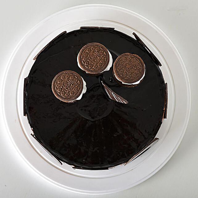 Chocolate Oreo Mousse Cake 2kg Eggless
