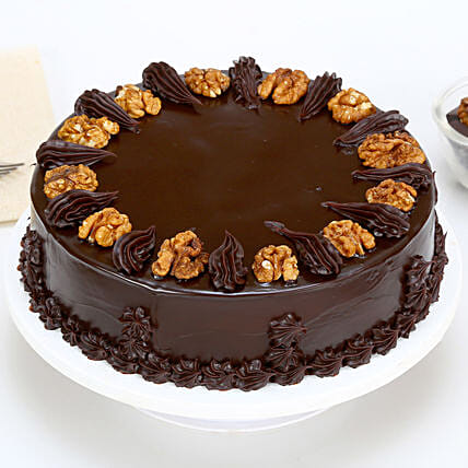 Chocolate Walnut Cake 2kg Eggless