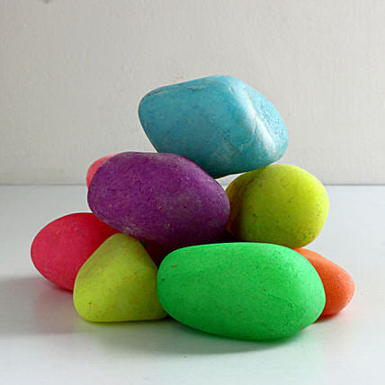 Colorful Gardening Pebbles