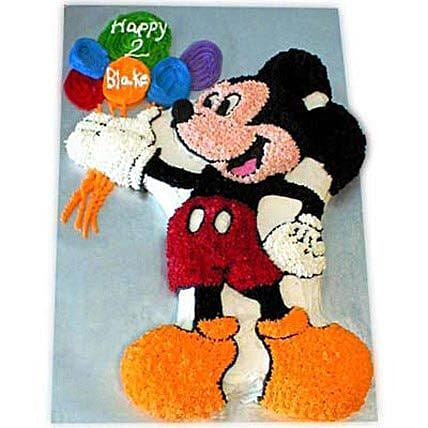 Creamy MM with Balloons 4kg Eggless Chocolate