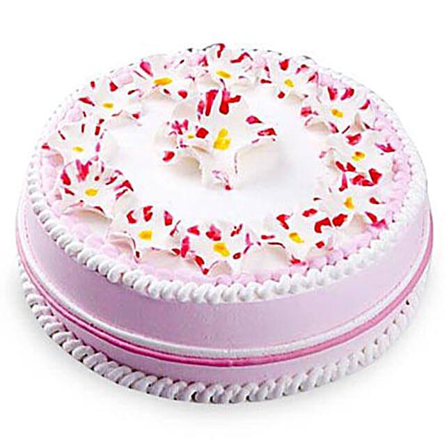 Daisy Christening Cake Half kg Eggless