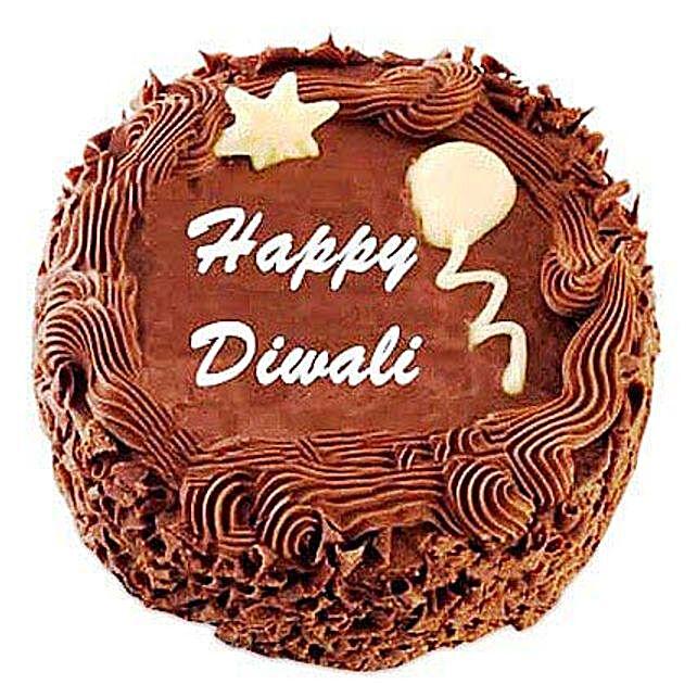 Deepavali Chocolate Cake 3kg Eggless
