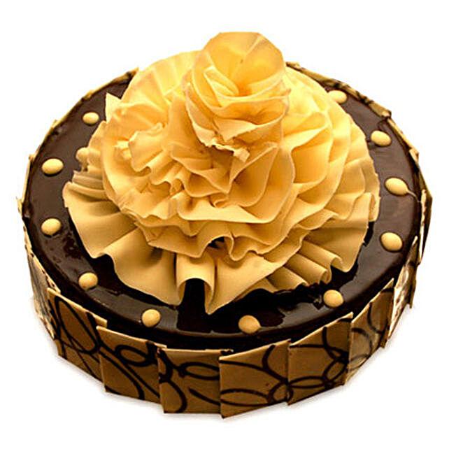 Delightful Chocolate Fantasy Cake Half kg by FNP