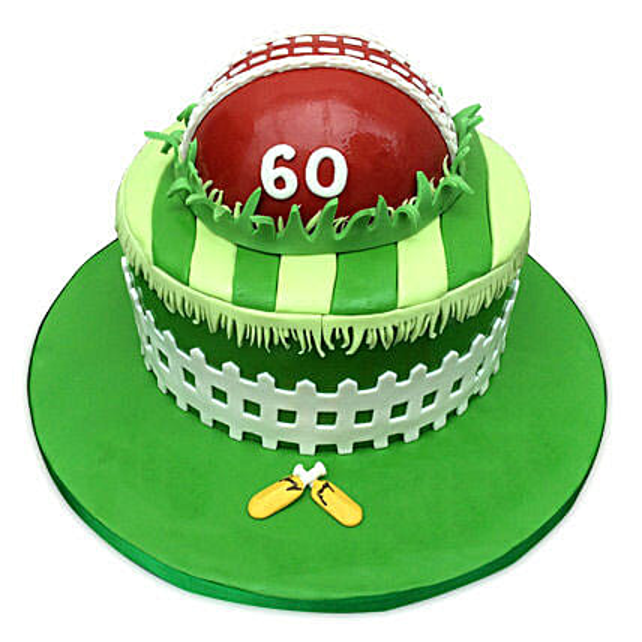 Designer Cricket Fever Cake 4kg Eggless Truffle